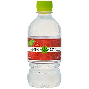 コカ・コーラ い・ろ・は・す 天然水 あまおう ペットボトル 340ml×24本