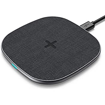 PeohZarr ワイヤレス充電器 iPhone XS/XS Max/X/XR/8/8Plus Samsung Galaxy 対応 5W/7.5W/10W ブラック
