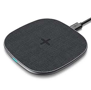 ワイヤレス 充電器 Qi 超薄型 急速充電器 10W/7.5w/5w ワイヤレスチャージャー 置くだけ充電 充電パッド Qi認証済み iPhone 8 /8+ /X/XS/XS MAX/XR, Galaxy S8/S8+/S9 /S9+/Note 8/S8, Nexus4/5/6, Sony SZ2/Xperia XZ3, HUAWEI Mate RS/20 pro/20 RSなどQI機種対応