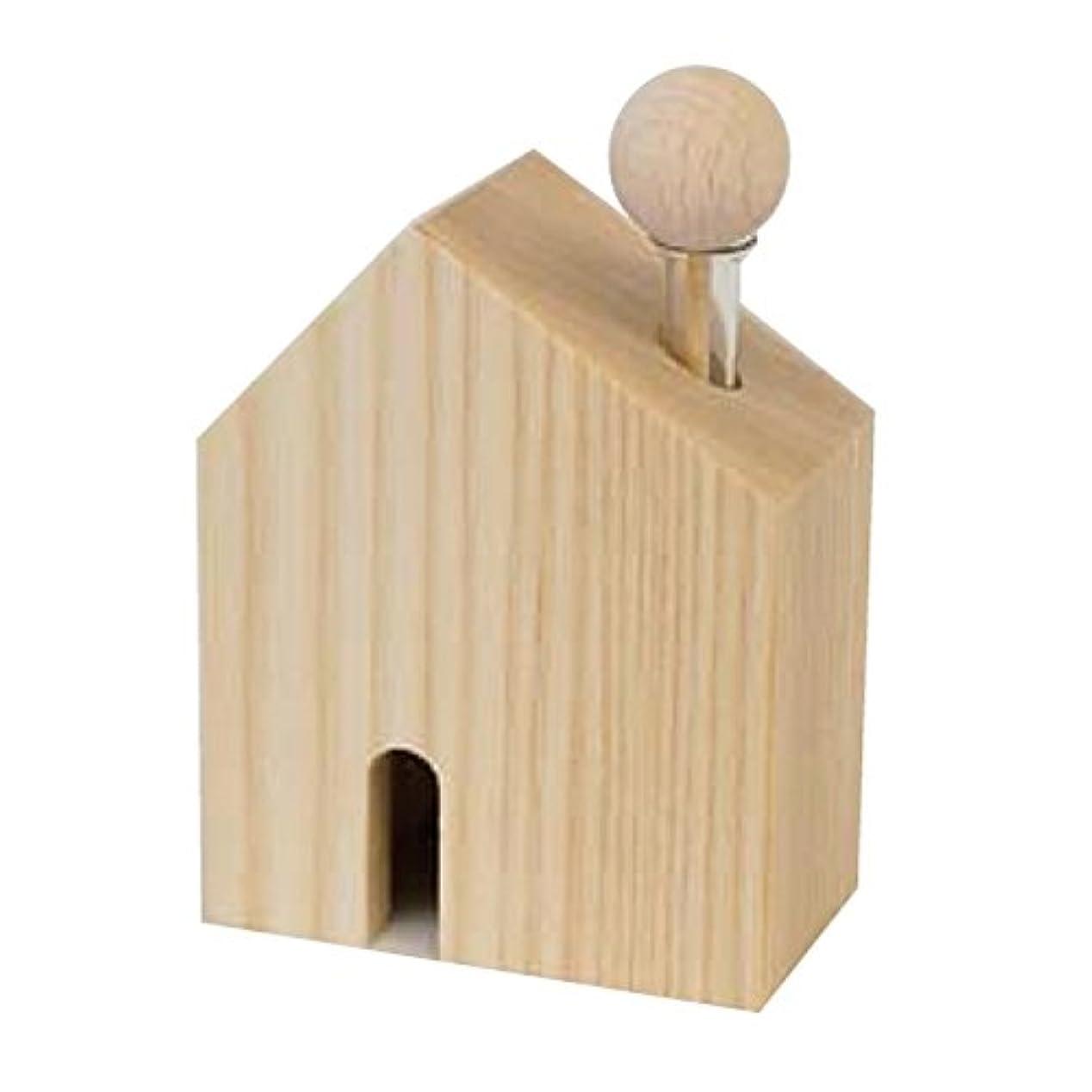 居住者ロープ以内にカリス成城 アロマ芳香器 木のお家