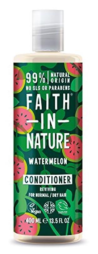 食物証明するエスカレーターFaith in Natureウォーターメロン コンディショナー
