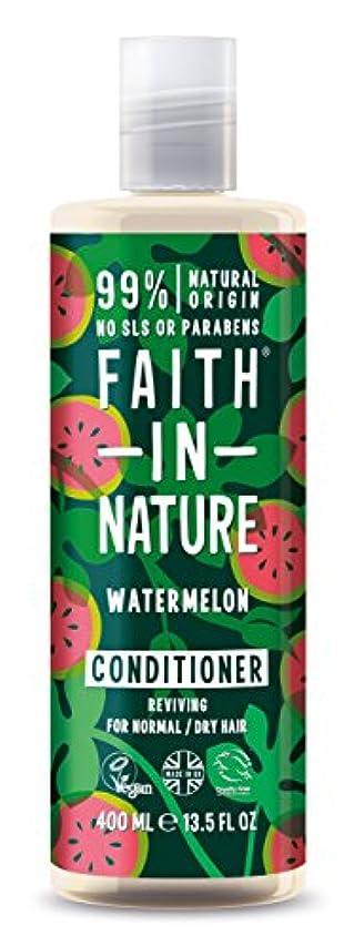 当社叫び声石灰岩Faith in Natureウォーターメロン コンディショナー
