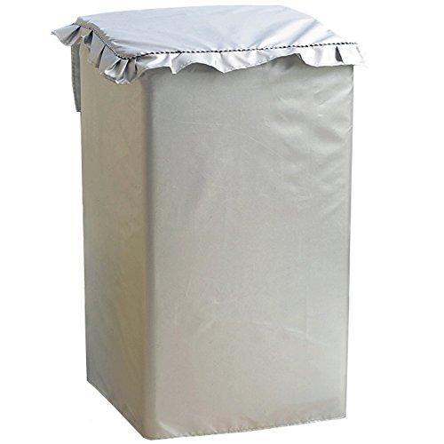 [해외]SAKURAI 세탁기 커버 수제 방수 자외선 차단제 방진 야외 밖에두고 고품질 두꺼운 전자동 세탁기 실버/SAKURAI Washing machine cover handcrafted waterproof sunscreen dustproof outdoor outdoor high quality thick full automatic type washing...