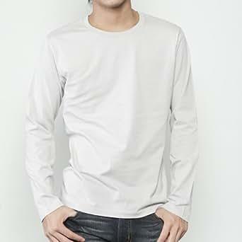 (ダルク)DALUC 長袖 Tシャツ ベーシック ロンT 4.3oz クールグレー S