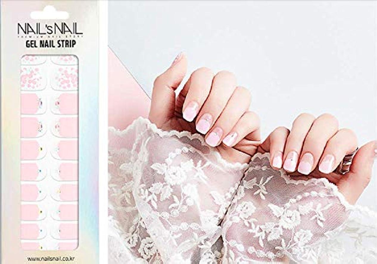 隔離バイナリ記念品\貼るジェルネイル/Nail's Nail(ネイルスネイル) ジェルネイルストリップ 55