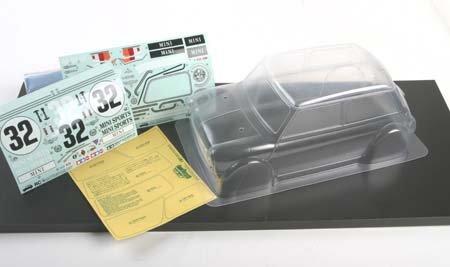 タミヤ ミニクーパー レーシング 軽量ボディ(限定) (RC特別販売商品:49483)