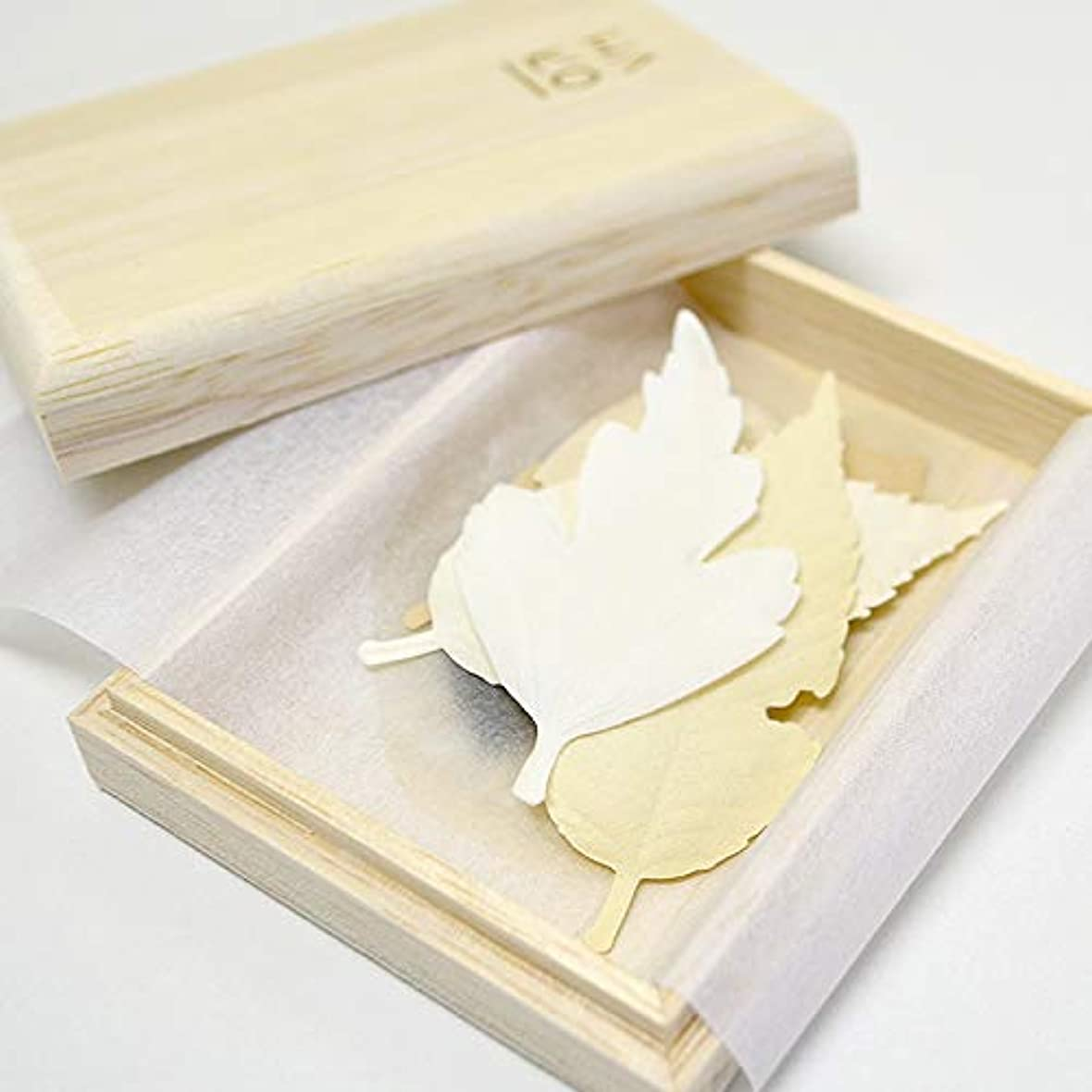 キャビン牛肉残り物PAPER INCENSE HAKO 01 5枚入 桐箱