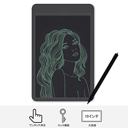[해외]전자 패드 Sotical Veamor 디지털 신호 10 인치 스마트 폰 저장 낙서 초안 펜있는 문구 전자 메모장 선물/Electronic pad Sotical Veamor Digital memo 10 inch sma ho saving graffiti draft with stationary stationery electronic note book gift