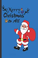 MERRY CHRISTMAS: Christmas Gift Journal: Cute Blank lined Notebook Journal to Write in for family and friends