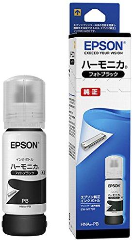 EPSON 純正 インクボトル HNA-PB フォトブラック ハーモニカ