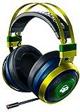 Razer Nari Ultimate - Overwatch Lucio Edition ゲーミングヘッドセット 振動フィードバック THX 7.1 無線/有線 冷却パッド 【日本正規代理店保証品】
