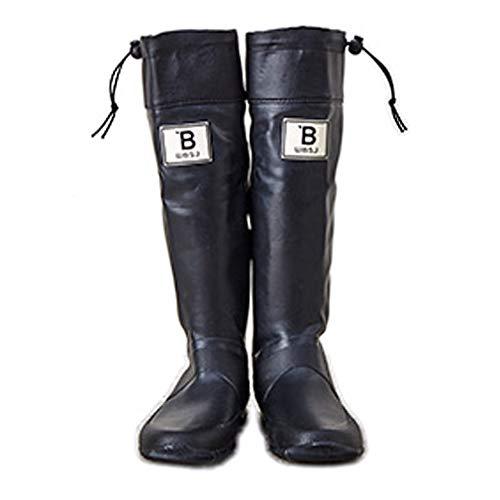 [日本野鳥の会] バードウォッチング長靴 ブラック (27cm(LL))