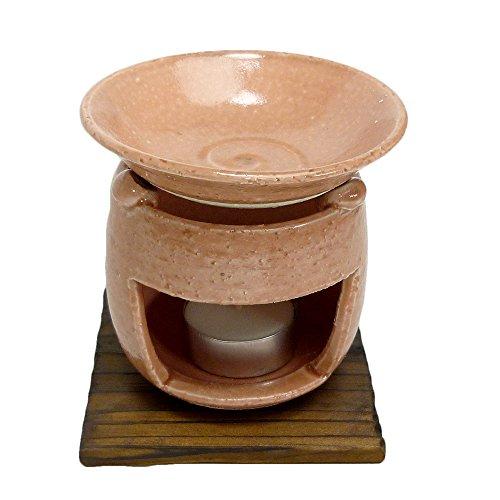 香炉 茶香炉(ピンク) [H10.5cm] HANDMADE プレゼント ギフト 和食器 かわいい インテリア