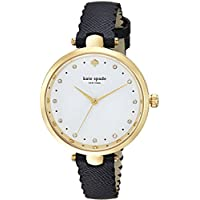 kate spade new york Women's 'Holland' Quartz Stainless Steel and Leather Casual Watch