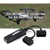 DJI Tello Droneの2in1マルチバッテリチャージャーハブインテリジェントクイック充電