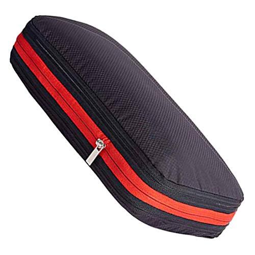 VICKPA 圧縮バッグ トラベルポーチ ファスナー圧縮 最大50%スペース節約可能 衣類仕分け 軽量 防水 9L