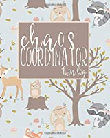 Chaos Coordinator Twin Log: Baby Record Sleep, Feed, Diapers And Activities. Perfect For New Parents Or Nannies.