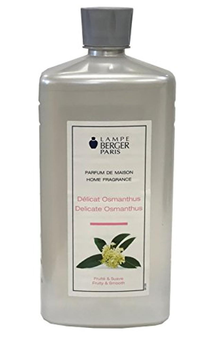 サドル特別な炭水化物ランプベルジェ アロマオイル オスマンチェス 1L [並行輸入品]