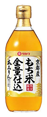宝酒造 京都産 もち米全量仕込 本みりん [ 500ml×6本 ]