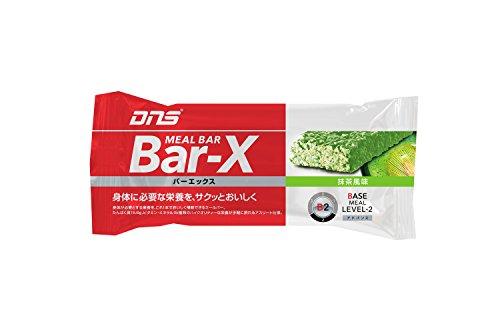 DNS バーエックス抹茶風味 45g×12本入り カゼインプロテイン ホエイプロテイン