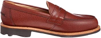 Mark McNairy Buttseam Penny Loafer 9501 LTGZ: Army Grain Tan