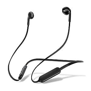 2019進化版 Bluetooth5.0 イヤホン 10時間連続使用 ブルートゥース イヤホンHiFi高音質 低音重視 IPX6防水 マイク内蔵 ワイヤレスイヤホン ハンズフリー通話 CVC8.0ノイズキャンセリング搭載 iPhone、Android用