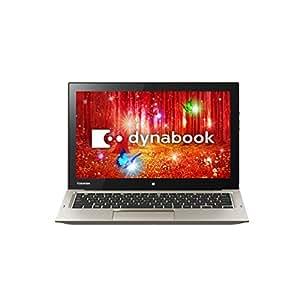 東芝 モバイルノートパソコン(デタッチャブル)dynabook R82/PGQ(WIN8.1Update 64Bit/M-5Y31/4GB/12.5型/Office Home & Business Premium搭載) PR82PGQ-NHA
