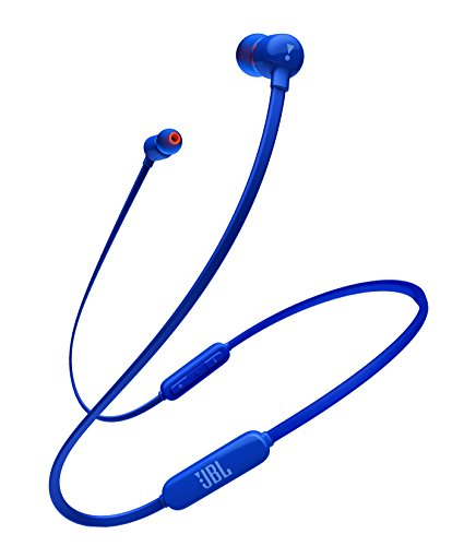 JBL T110BT Bluetooth イヤホン ワイヤレス/マイクリモコン付き/マグネット搭載 ブルー JBLT110BTBLUJN 【...
