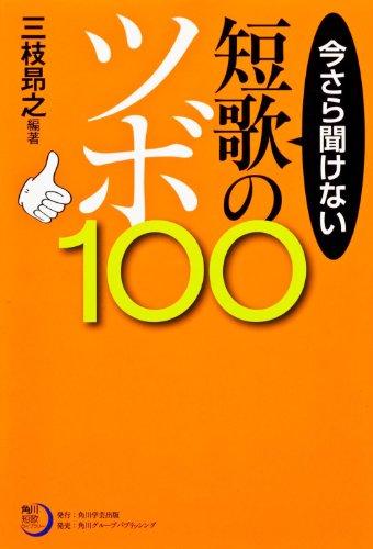 角川短歌ライブラリー  今さら聞けない短歌のツボ100の詳細を見る