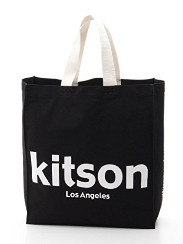 kitson キットソンオリジナルショッパートート (ブラッ...
