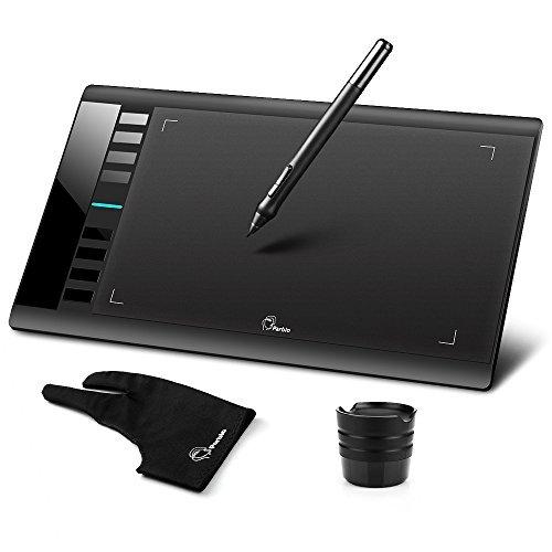 """Parblo A610 ペンタブレット ペン入力専用モデル お絵描きタブレット10"""" x 6"""" 2048 (ペンタブレット)"""
