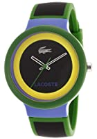 LACOSTE TWO TONE SILICONE STRAP MENS WATCH - 2020032