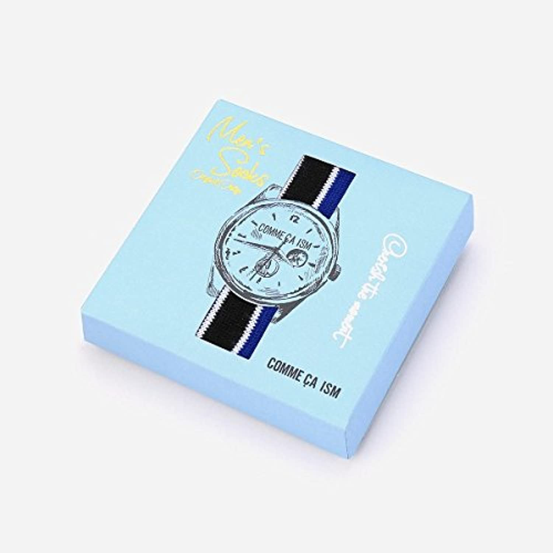 コムサイズムメンズ(COMME CA ISM) BOX IN ソックス【ブラック(05)/フリー(25-27cm)】