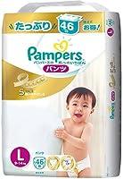 パンパース はじめての肌へのいちばんパンツ/ウルトラジャンボL × 10個セット