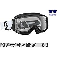 SCOTT ゴーグル SPLIT OTG(眼鏡対応)BK/WH モトクロス レース 正規輸入品