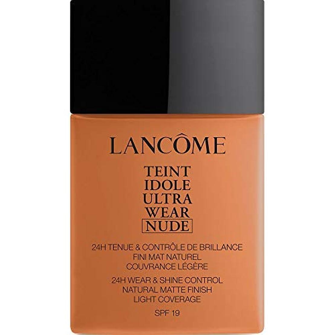 旋律的羊眉をひそめる[Lanc?me ] ランコムTeintのIdole超摩耗ヌード財団Spf19の40ミリリットル09 - クッキー - Lancome Teint Idole Ultra Wear Nude Foundation SPF19...