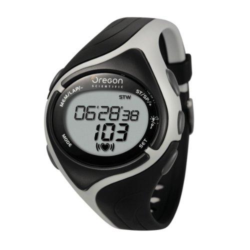[オレゴン]Oregon 腕時計 ランナーモデル タッチパネル機能搭載 デジタル心拍計 チェストベルト付き ブラック SE188 メンズ 【正規輸入品】
