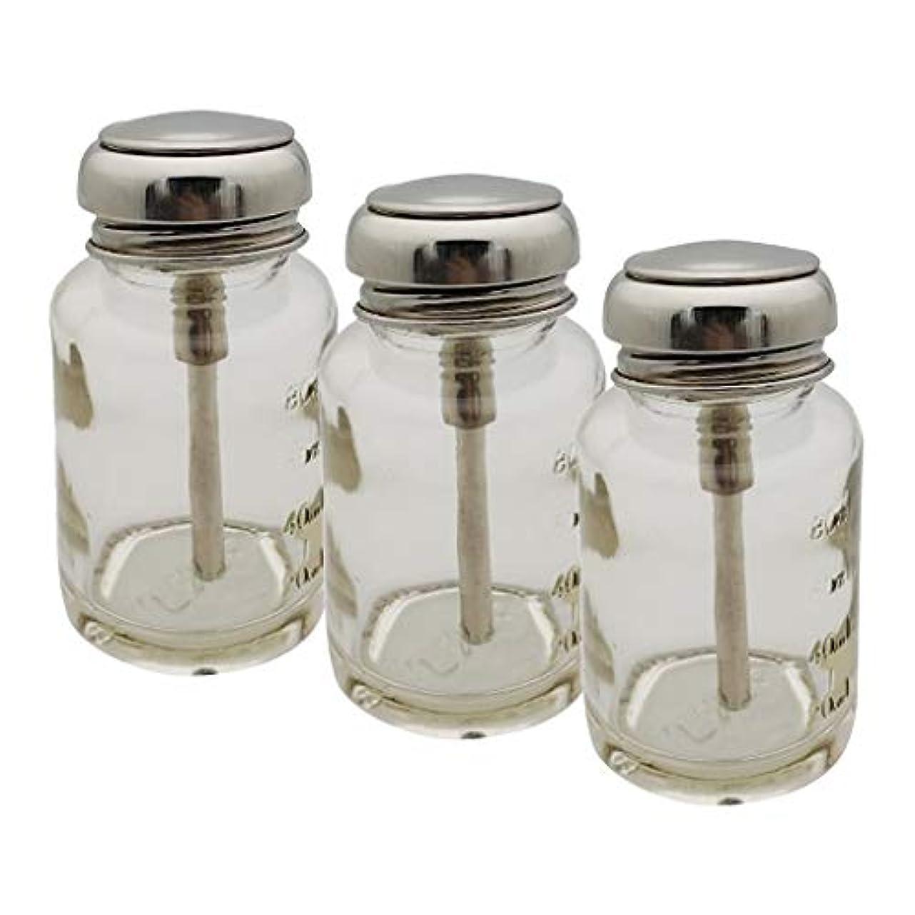 印象派壁テントToygogo 3個 ポンプボトル 容器 ポンプディスペンサー ネイル ディスペンサー プレスボトル