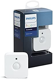Philips Hue Smart Wireless Motion Sensor, Installation-Free, Exclusive for Philips Hue Lights (Compatible with