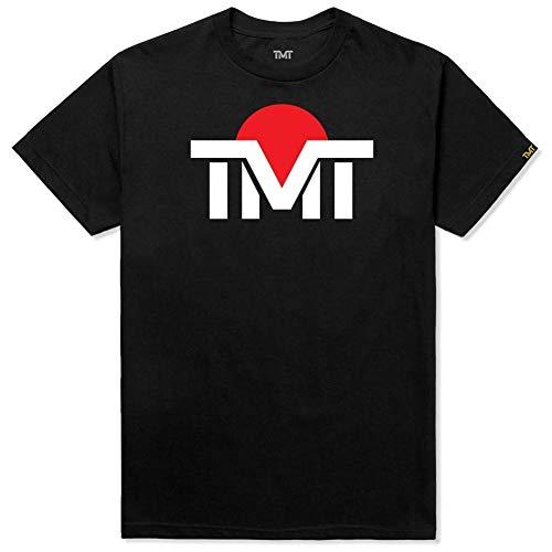 (ザ・マネーチーム) THE MONEY TEAM TMT 正規輸入品 tmt-ms121-2kc ザ・マネーチーム TシャツTMT JAPAN 黒ベース×白ロゴ フロイド・メイウェザー ボクシング 男性 メンズ ブラック