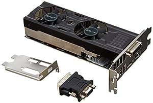 GALAX GeForce GTX 950 グラフィックボード LowProfaile対応 給電無しモデル GF PGTX950-OC-LP/2GD5 ZERO