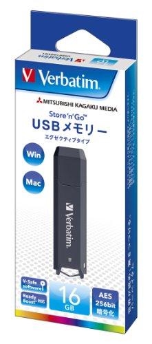 三菱ケミカルメディア Verbatim USBメモリー エグ...