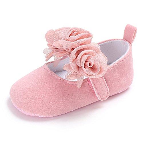 8d7a98cffa5c1  Candy  フォーマル 靴 ベビー シューズ 結婚式 祝い 可愛い 女の子 各サイズ ピンク 白 (12CM