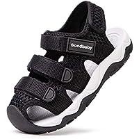 BMCiTYBM Toddler Girls Sport Sandals Kid Boys Closed Toe Velcro Water Shoes