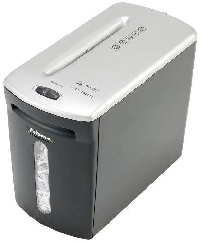 FELLOWES パーソナルシュレッダー (SOHO仕様A4クロスカットタイプ6枚 ホチキス・クレジットカード細断) PS62C