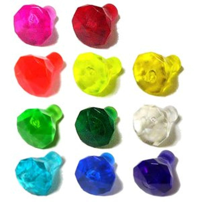 LEGOブロック?純正パーツ<岩石/宝石類>1 x 1(10mm x 7mm) 宝石 24 Facet (11個, Multi color) [並行輸入品]