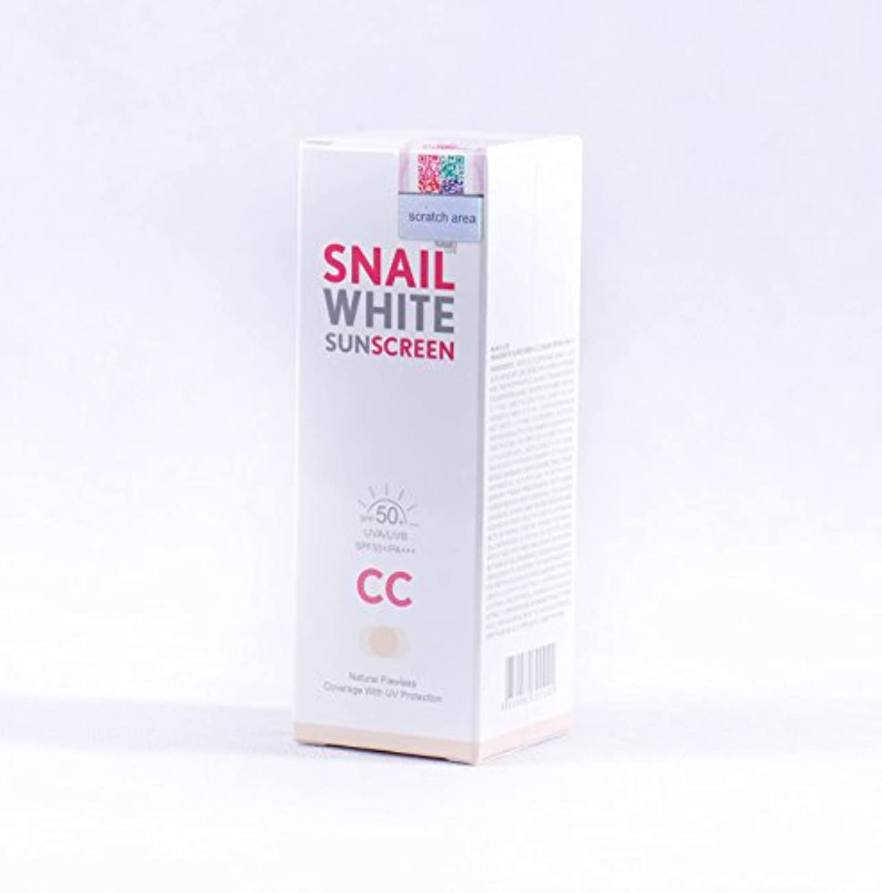 信条警告する統合するナムライフスパイシャンサンクスクリームSPF50 + / PA +++ 50 ml ホワイトニング NAMU LIFE SNAILWHITE SUNSCREEN CC CREAM SPF50 + / PA +++ 50 ml