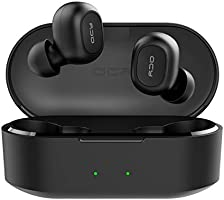 QCY T2C True Wireless Bluetooth Earbuds, V5.0 Bluetooth in-Ear Stereo Earphones, Dynamic HiFi Sound Quality, Noise...