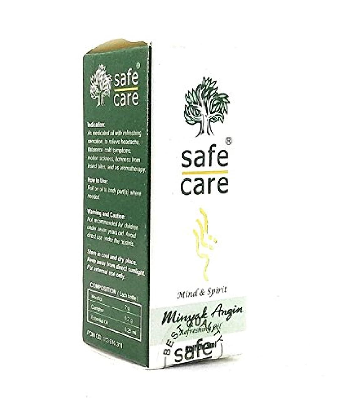 丁寧引き潮アレルギーSafe Care 爽やかなオイルアロマセラピーでロール、5 ml(3パック)