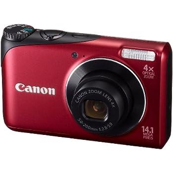 Canon デジタルカメラ PowerShot A2200 レッド PSA2200(RE)